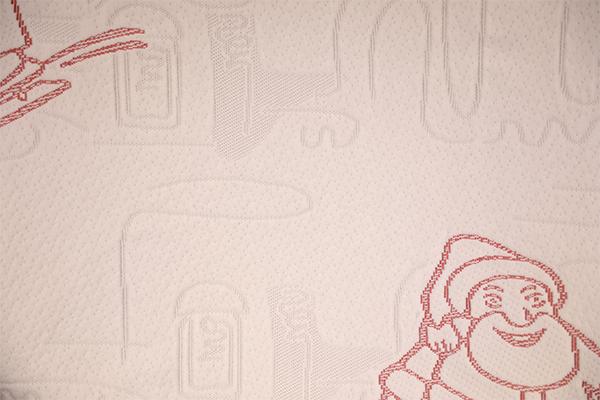 Capa de aire tejida de poliéster de la serie Christmas