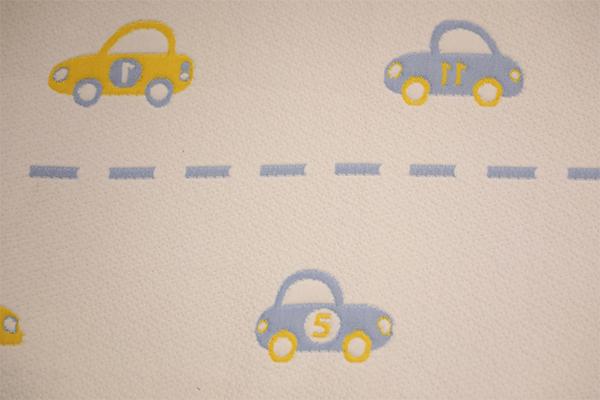 Toda la capa de aire de poliéster para niños de punto de coche