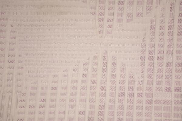 Todas las capas de aire de poliéster de punto rosa para niños