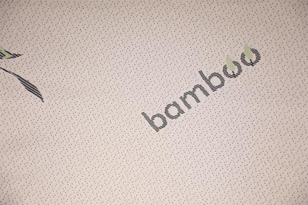 Capa de aire de punto de fibra de bambú