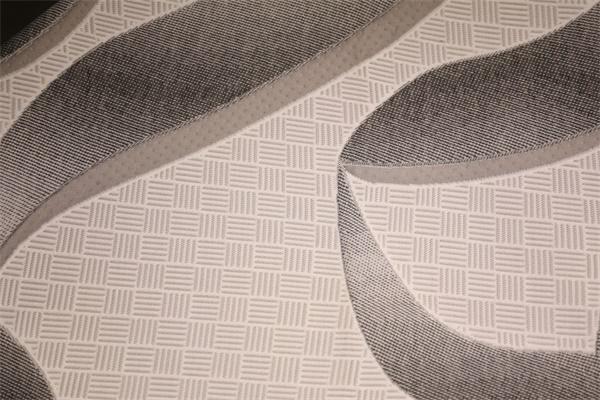 Línea negra doble capa de aire de punto