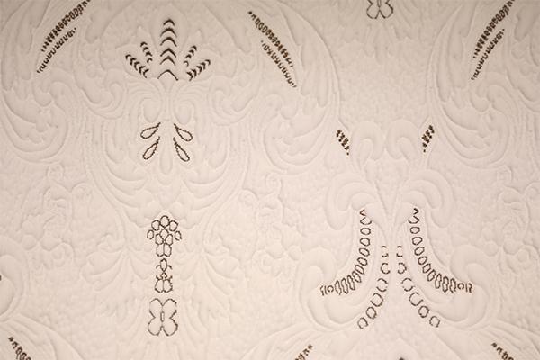 Capa de aire tejida clásica marrón