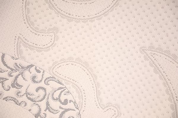 Clásico tejido de flores de aire.