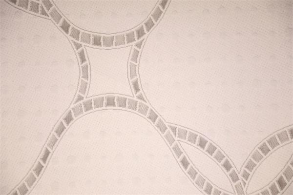 Piel de serpiente textura doble capa de aire de punto
