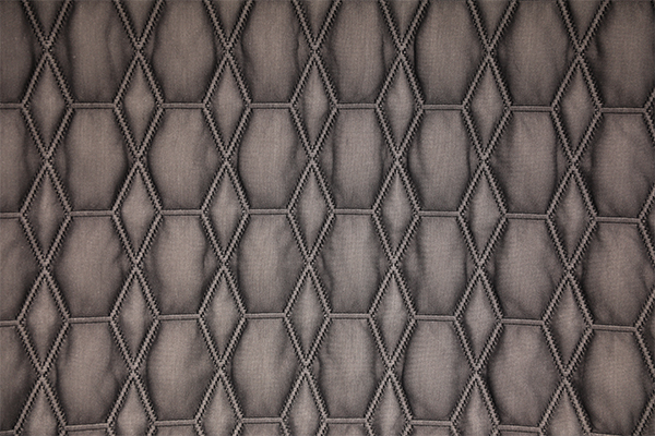 Fuerte capa de aire tridimensional oscura tejida