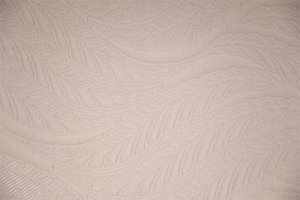 Capa de aire de punto de hoja clásica blanca